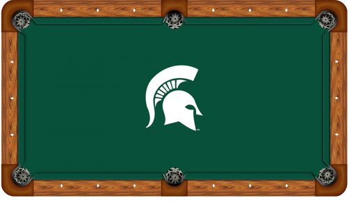 Michigan State University Logo Billiard Cloth