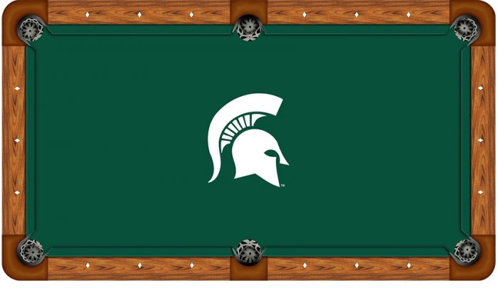 Michigan State University Logo Billiard Cloth