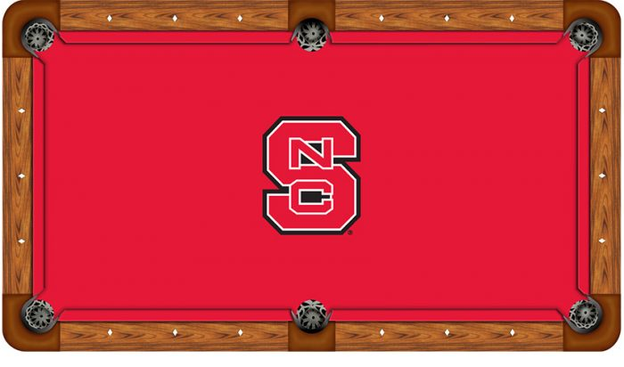 North Carolina State University Logo Billiard Cloth