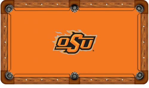 Oklahoma State University Logo Billiard Cloth