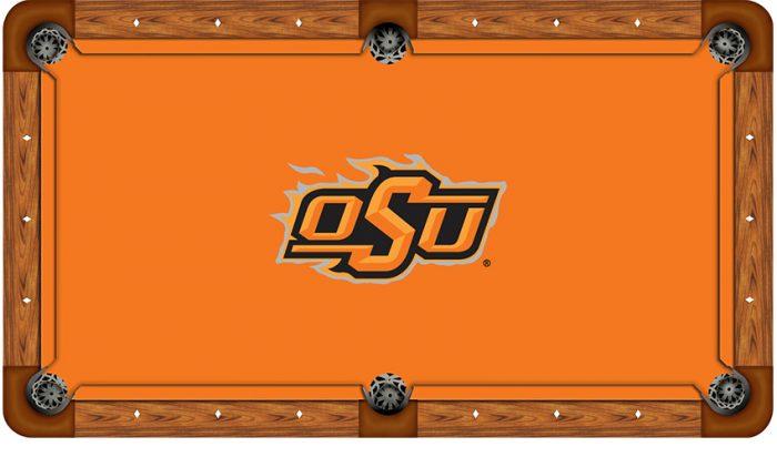 Oklahoma State University Logo Billiard Cloth