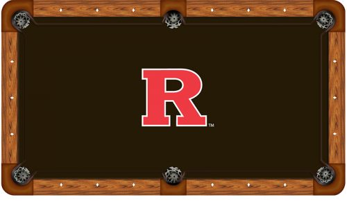 Rutgers University Logo Billiard Cloth