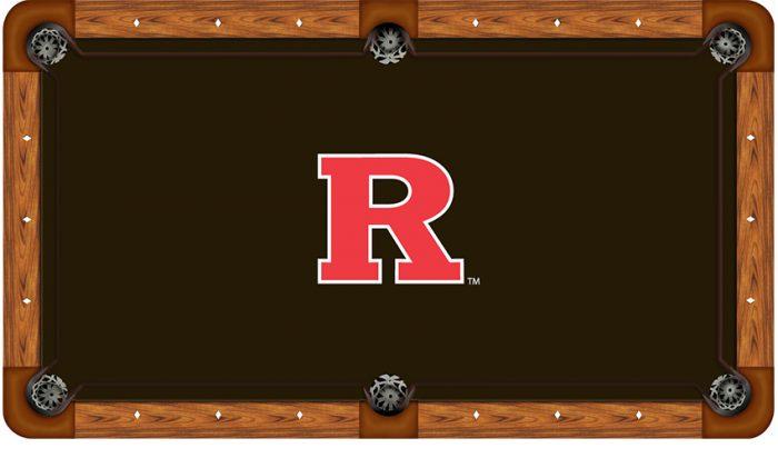Rutgers University Logo Billiard Cloth