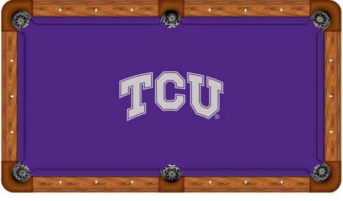 Texas Christian University Logo Billiard Cloth