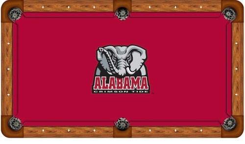 University of Alabama Logo Billiard Cloth