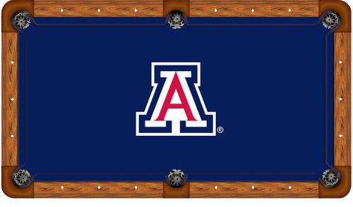 University of Arizona Logo Billiard Cloth