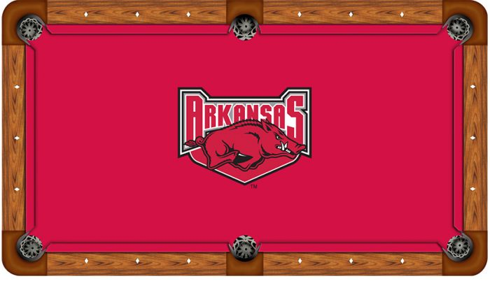 University of Arkansas Logo Billiard Cloth