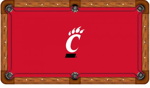 University of Cincinnati Logo Billiard Cloth