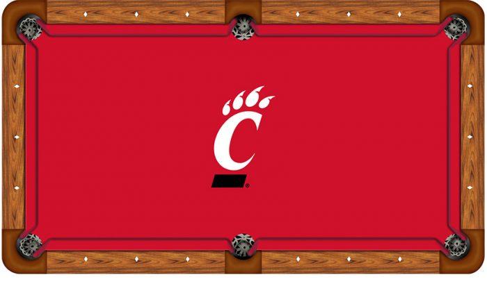 University of Cincinnati Logo Billiard Cloth