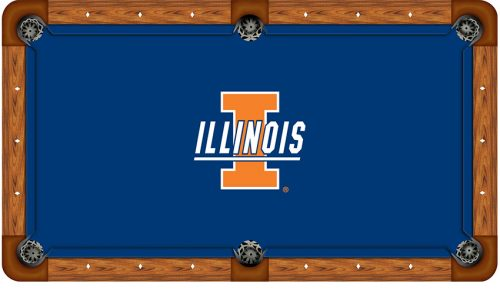 University of Illinois Logo Billiard Cloth