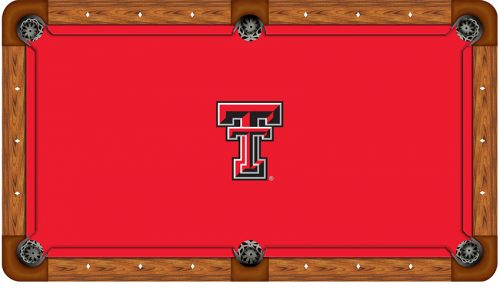 Texas Tech University Logo Billiard Cloth