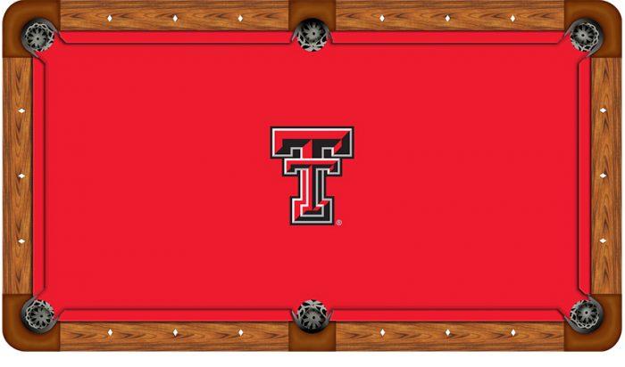 Texas Tech University Logo Billiard Cloth