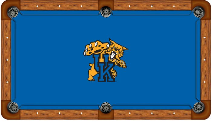 University of Kentucky Logo Billiard Cloth