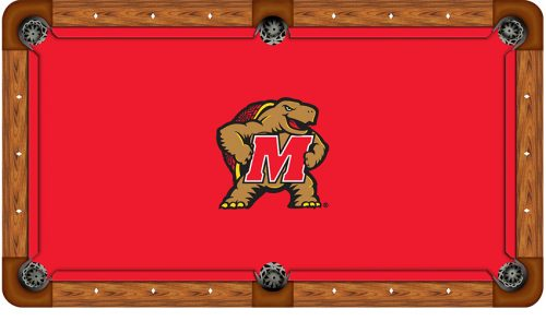University of Maryland Logo Billiard Cloth
