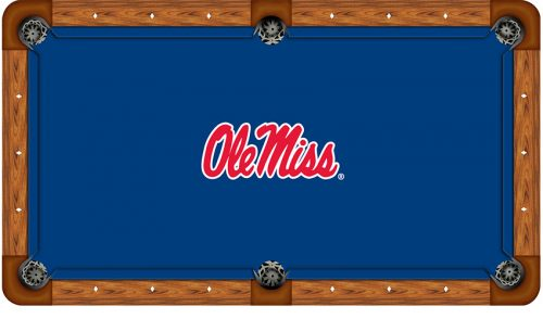 University of Mississippi Logo Billiard Cloth