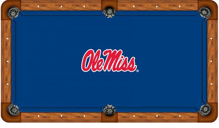 University of Mississippi Logo Billiard Cloth