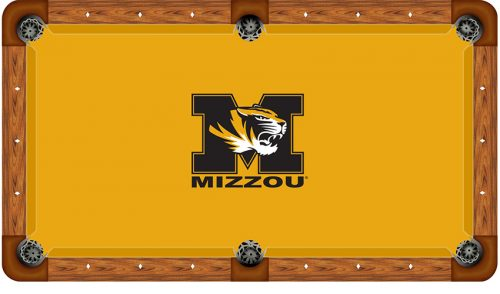 University of Missouri Logo Billiard Cloth