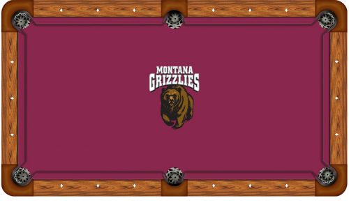 University of Montana Logo Billiard Cloth