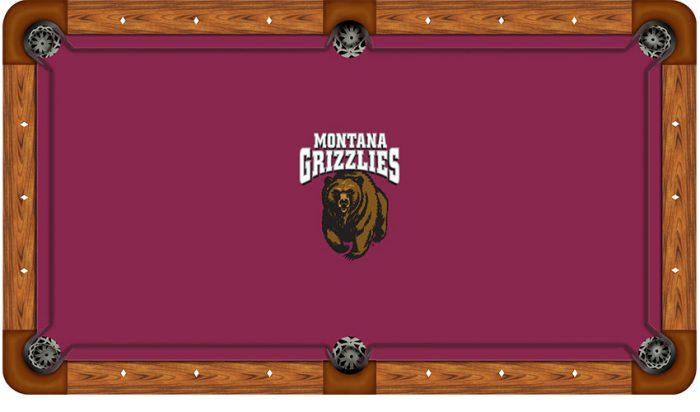 University of Montana Logo Billiard Cloth