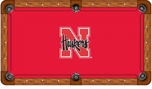 University of Nebraska Logo Billiard Cloth
