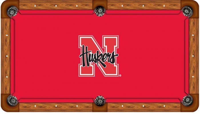 University of Nebraska Logo Billiard Cloth