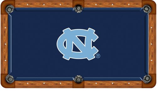 University of North Carolina Logo Billiard Cloth