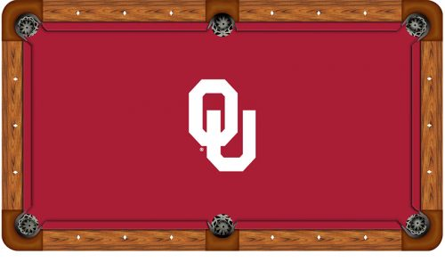 University of Oklahoma Logo Billiard Cloth
