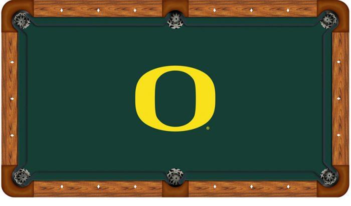 University of Oregon Logo Billiard Cloth