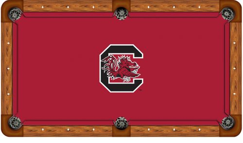 University of South Carolina Logo Billiard Cloth
