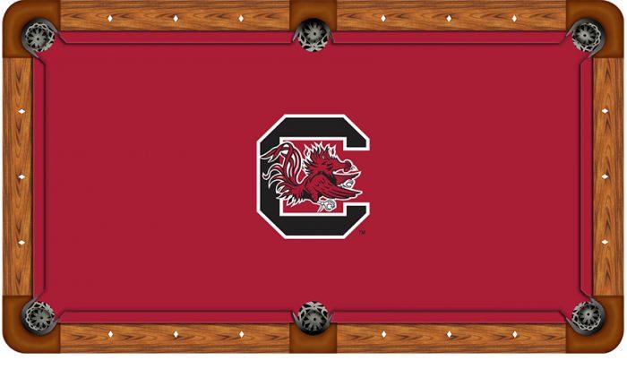 University of South Carolina Logo Billiard Cloth