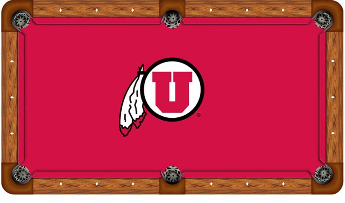 University of Utah Logo Billiard Cloth