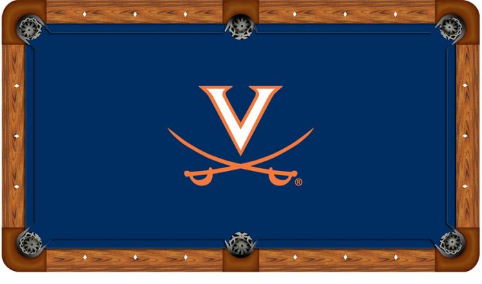 University of Virginia Logo Billiard Cloth