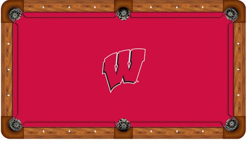 University of Wisconsin Logo Billiard Cloth