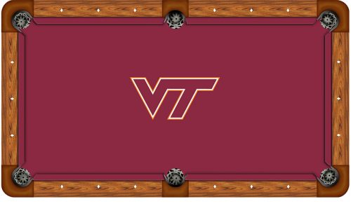 Virginia Tech Logo Billiard Cloth