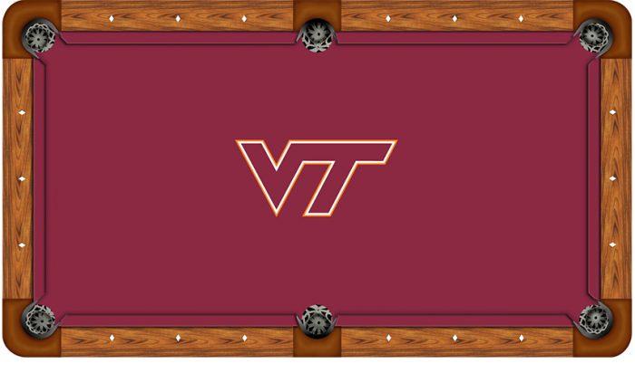 Virginia Tech Logo Billiard Cloth