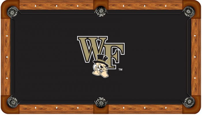 Wake Forest University Logo Billiard Cloth