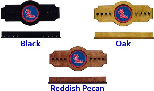 University of Mississippi Cue Rack