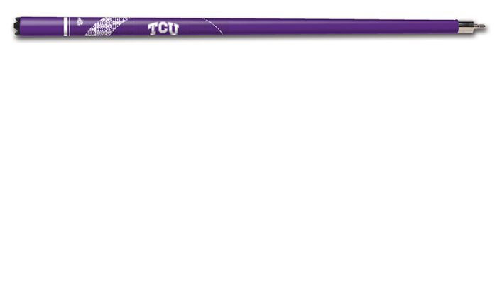 Texas Christian University Cue Stick