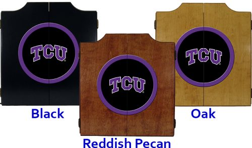 Texas Christian University Dart Cabinet