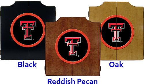 Texas Tech University Dart Cabinet