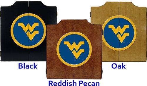 West Virginia University Dart Cabinet