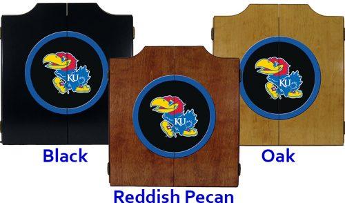 Kansas University Dart Cabinet