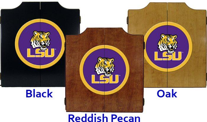 Louisiana State University Dart Cabinet