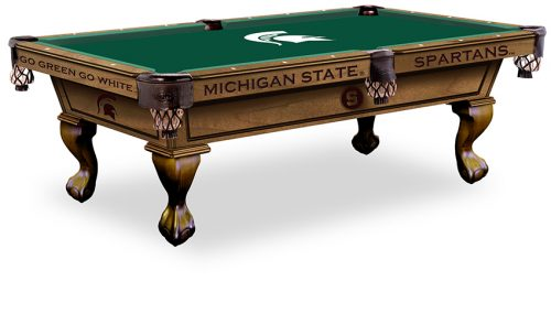 Michigan State University Pool Table ($3,999 - $4,599)