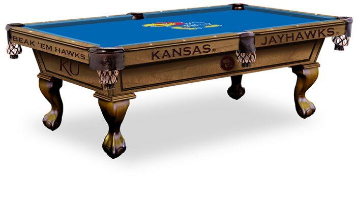 Kansas University Pool Table ($3,999 - $4,599)