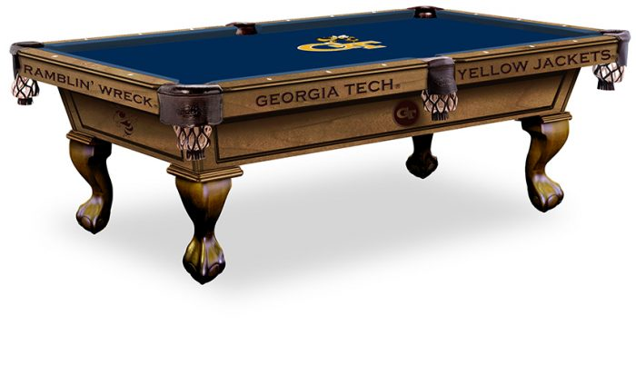 Georgia Tech Pool Table ($3,999 - $4,599)
