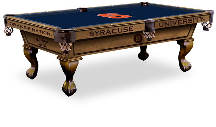 Syracuse University Pool Table ($3,999 - $4,599)