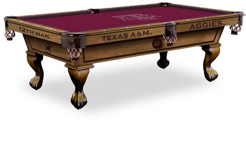 Texas A&M University Pool Table ($3,999 - $4,599)