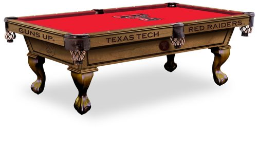Texas Tech University Pool Table ($3,999 - $4,599)