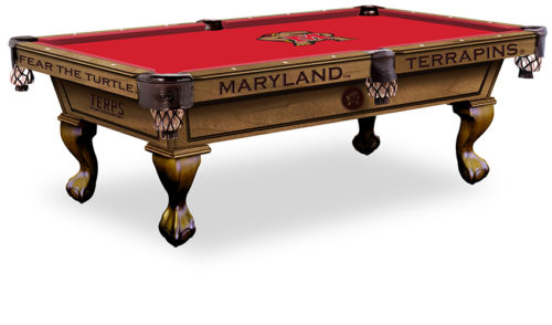 University of Maryland Pool Table ($3,999 - $4,599)